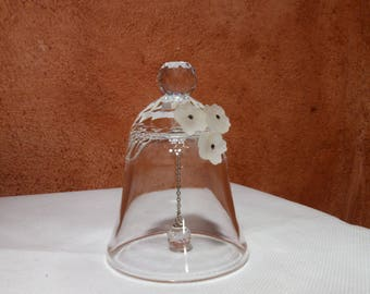 Crystal table bell / table bell /Vintage/ 桌钟