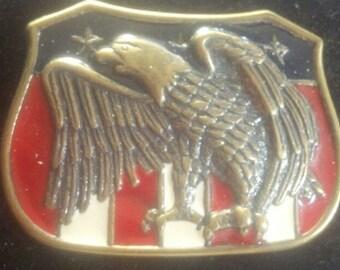 Vintage 1942 Screaming Eagle American Buckle