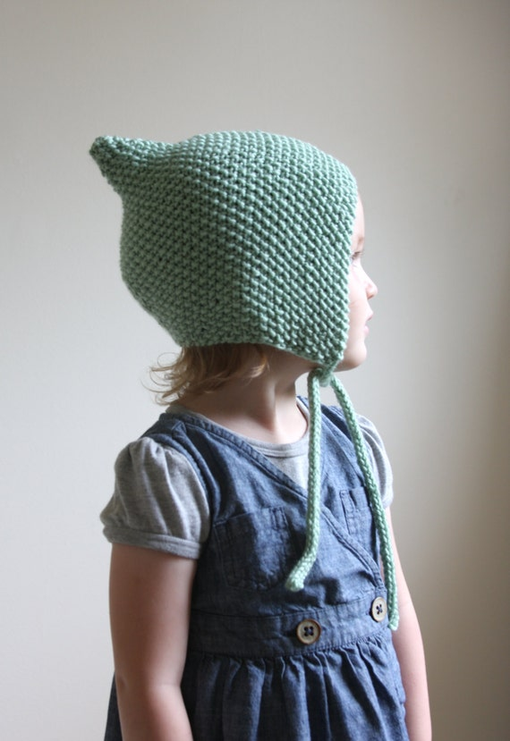 How To Knit A Baby Pixie Hat Toy