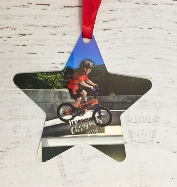 Custom Personalized Ornament with Photo