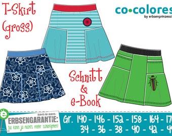 T-Skirt Jerseyrock 140–170 / 34–44 eBook / Schnitt