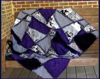 Ghastlie Halloween Crazy  Quilt Pattern