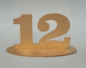 Wedding - Table numbers 1 -10