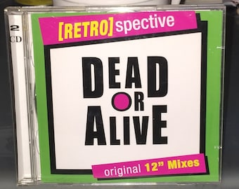 Dead or Alive CD X 2 MINT