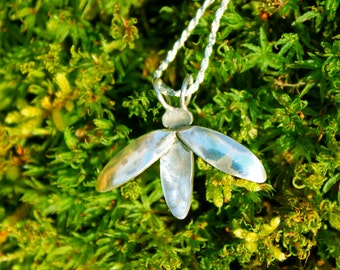The Firefly Necklace (Sterling Silver)