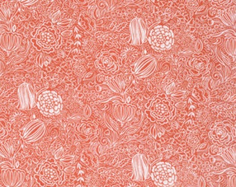 Sundara Oasis Kaiya Orange - 1/2yd