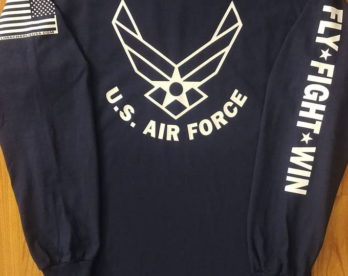 Air Force - Air Force long sleeve - Air Force Veteran - Air Force Shirt Women - Air Force Shirt Men - Air National Guard - Air Force Wife