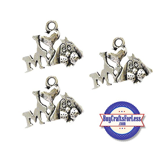 LOVE My DOG Charms, 6, 12, 24 pcs +FREE SHiPPing & Discounts*