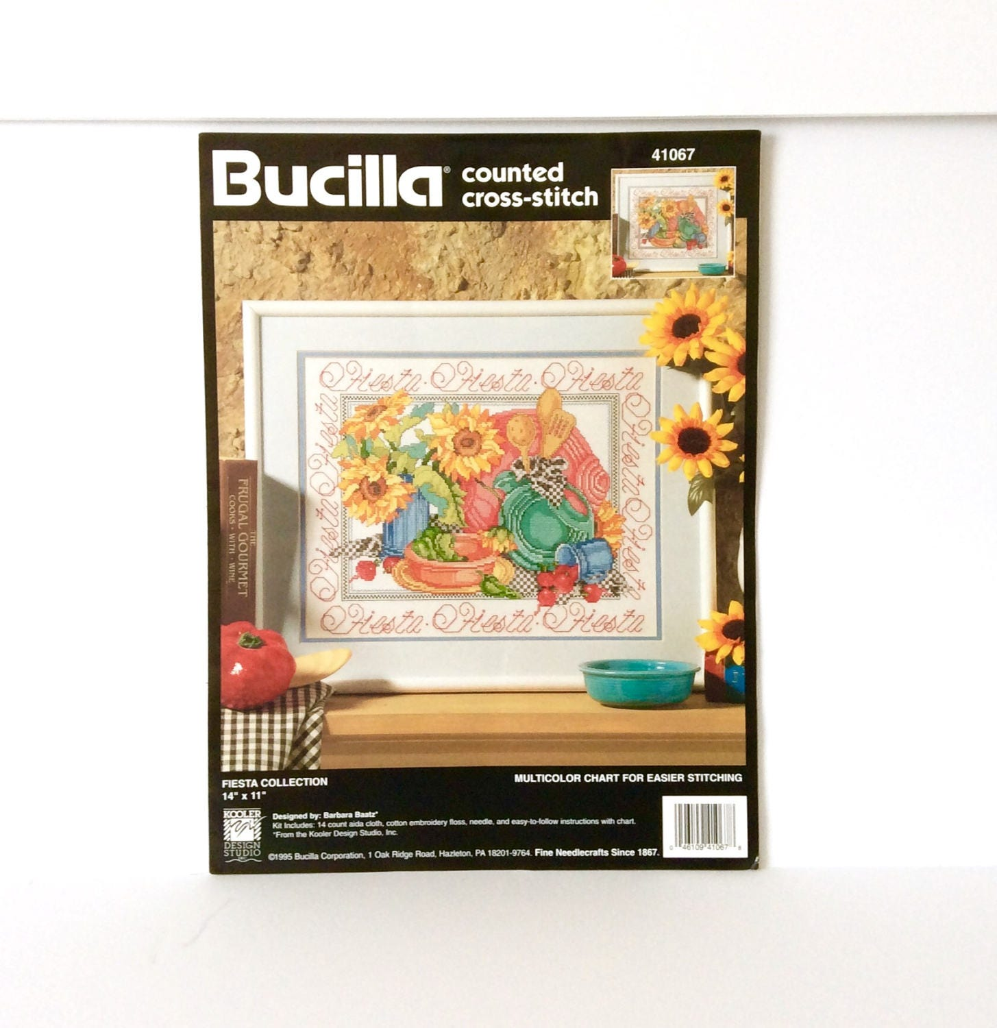 Bucilla chart fiesta collection cross stitch chart only vintage sold by textilesandthings nvjuhfo Choice Image