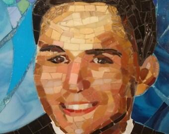 Mosaic custom portrait - from photograph