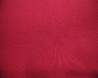 DOUBLE CREPE HEAVY DEEP RED 43/133 CM