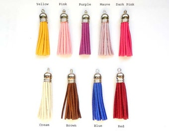 2 Tassel Charms Of Each Color - You Choose Color -22-36-3