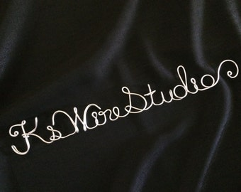 A Custom Wire Name Decor, A Personalized Wire Decor, A Custom Wire Sign, A Custom Wire Wall Decor