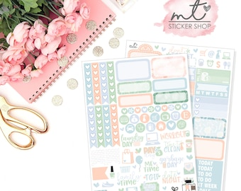 Home Sweet Home Mini Kit || Vertical || 80+ Planner Stickers || Erin Condren Life Planner