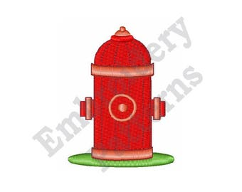 Fire Hydrant - Machine Embroidery Design