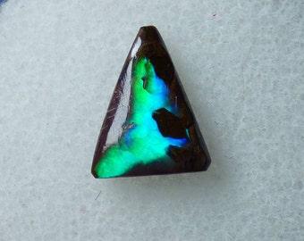 Australian Boulder Opal Cabochon 1.0 Ct - Full Spectrum! Broad flash pattern