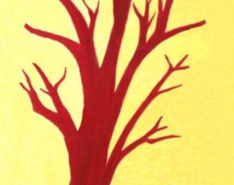 Skeleton Tree 60 x 100cm Quality Print on Canvas