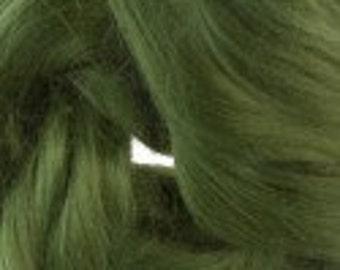 Bamboo roving, 1 oz, Ivy