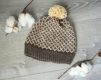 Men's or Women's Aspen Lodge Knitted Beanie
