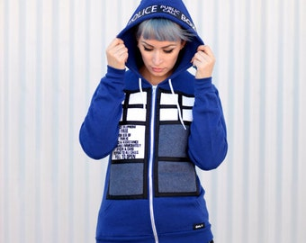 Public Police Call Box Tadis Sweater
