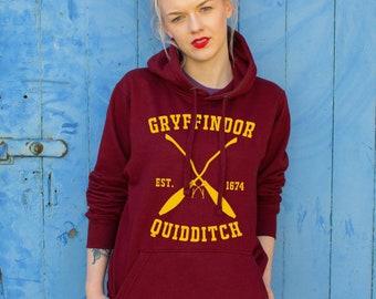 Gryffindor Burgundy Hoodie - Harry Potter inspired