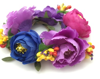 NEW!! Cat and Dog Flower Crown