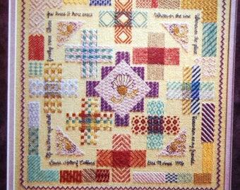 Cross Stitch & Needlework By Better Homes And Gardens Vintage Cross Stitch Pattern Magazine June 1996