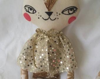 Kitty art doll