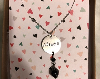 CHARITY CORNER | AFRICA necklace
