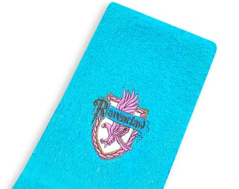 Ravenclaw Embroidered Cotton Kitchen Towel