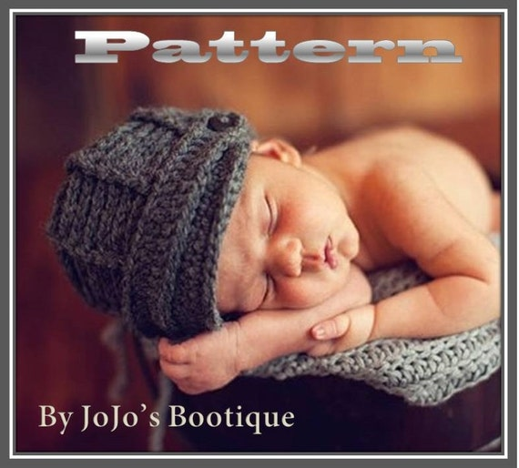 Pdf Newsboy Hat Pattern Baby Newsboy Hat Crochet Pattern