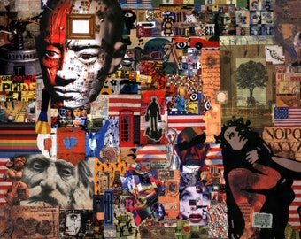 Collage on Paper - Ad Absurdum