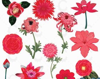 japanese flower etsy