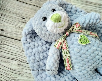 Knitted Plush Bunny