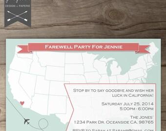 goodbye invitations