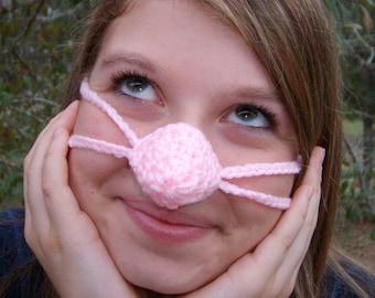 Pinkey Nose, Nose Warmer, Teen,Tween, Woman, Nose Cozy, Cold Nose Cover, Adult, Vegan Friendly, Indoor Outdoor, Work, Mother, Gramdna, Aunt