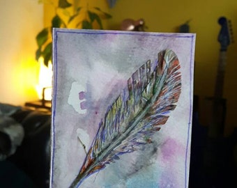 Make a wish Atc aceo original art