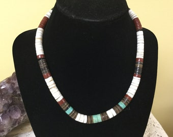 Vintage Heshi Bead Necklace