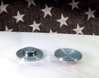 Smart-Mfg's Full Coverage Low Profile Comfort Buttons for size R188 Bearing Fidget Spinners, Made in USA by Smart-Mfg!
