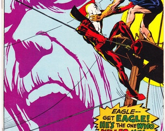 Deadman in Strange Adventures 208  Comic book. Vintage Neal Adams art, Silver Age. 1968 DC Comics in VF+ (8.5)