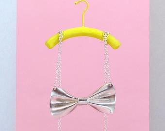 Tweedledee Bow Tie Necklace