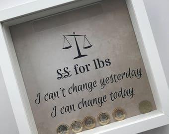 Weight Loss Money Slot Frame