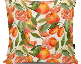 Decorative pillow Tangerines