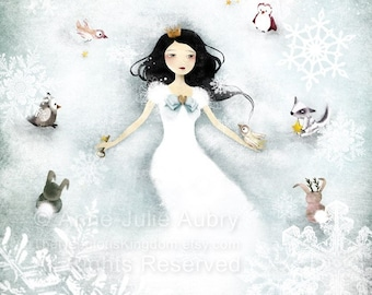 Winter Wonderland - open edition print - Whimsical Art