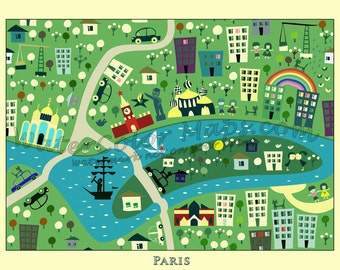kids maps kids paris map childrens maps kids map of france map