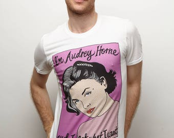 I'm Audrey Horne and I Get What I Want Sherilyn Fenn Twin Peaks White T-Shirt