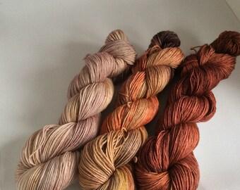 Yarn Trio Wool-Silk fade