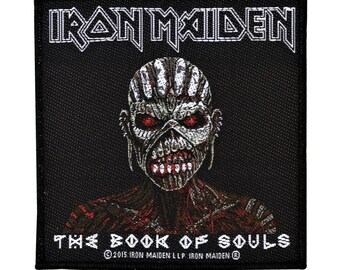 Iron Maiden The Book Of Souls Patch Album Art Heavy Metal Woven Sew On Applique