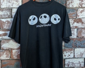 Vintage The Nightmare Before Christmas t-shirt