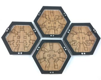 Mini Dice Tray for Gamers! - Space Invader Grab Bag